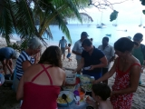Potluck on the beach
