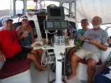 dinner-aboard-free-spirit-with-our-friends-steve-charlotte-and-dave